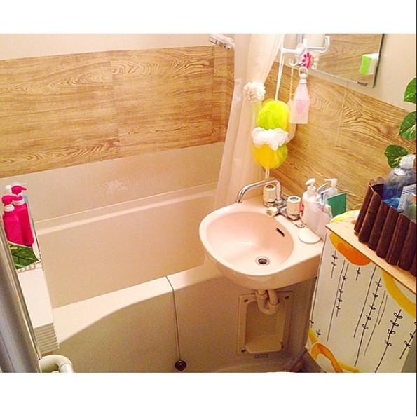 DIYインテリア-バスルーム