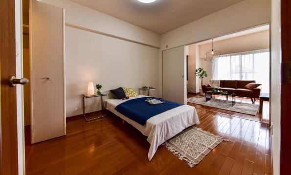 リバーコート砂田橋Ⅱ|ベッドルーム