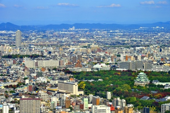 名古屋の景色