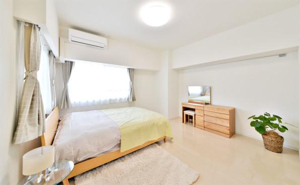 インテリアコーディネート|名古屋|カスタリア伏見|寝室