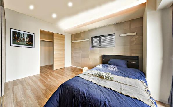 インテリアコーディネート 名古屋 GRAND ESPOIR車道 寝室