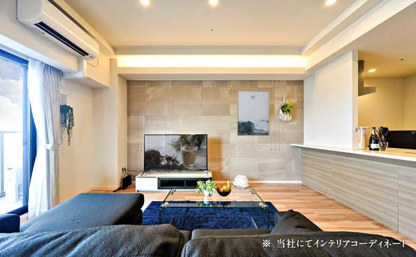 インテリアコーディネート 名古屋 GRAND ESPOIR車道 テレビボード