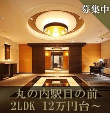 丸の内駅目の前2LDK12万円台~